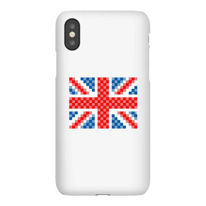 Plaid Scottish Pattern. England Flag Texture From Tartan Iphonex Case Designed By Alamy