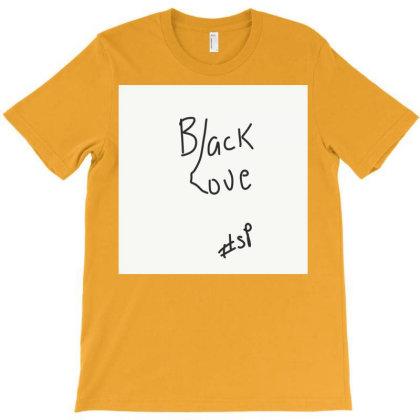 Black Love T-shirt Designed By Kiss