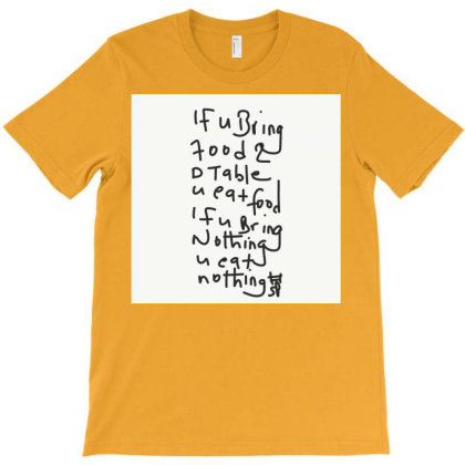 If You Bring Food To The Table T-shirt Designed By Kiss