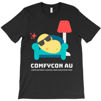 Comfycon Au 2020 T-shirt Designed By Green Giant