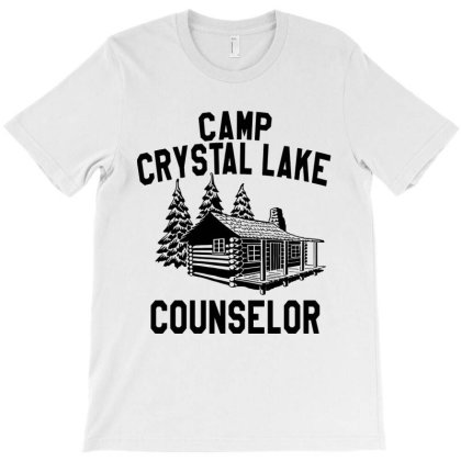 Camp Crystal Lake Counselor T-shirt Designed By Green Giant