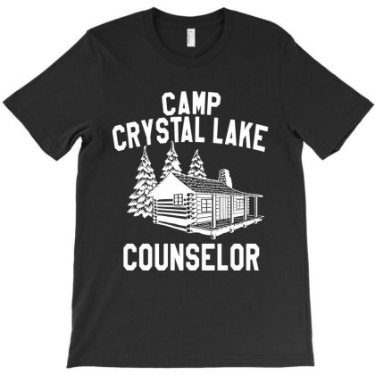 Camp Crystal Lake Counselor   For Dark T-shirt Designed By Green Giant