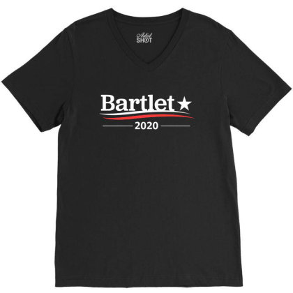 Bartlet 2020 V-neck Tee Designed By Green Giant