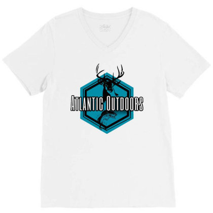 Atlantic Outdoors V-neck Tee Designed By Green Giant