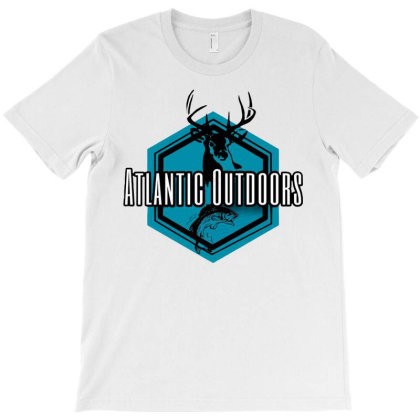 Atlantic Outdoors T-shirt Designed By Green Giant