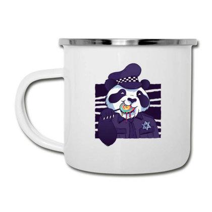 Policeman Panda Camper Cup Designed By Dirjaart