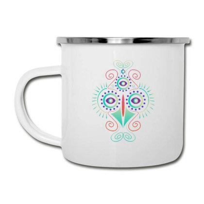 Psychedelic Chicken Camper Cup Designed By Dirjaart