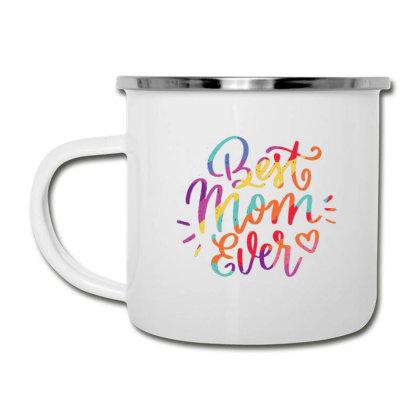 Pride Themed Best Mom Camper Cup Designed By Dirjaart