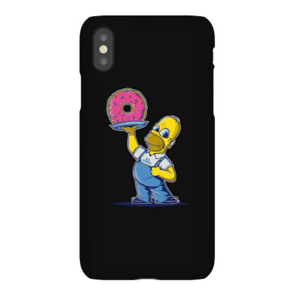 Big Homer Iphonex Case Designed By H3lm1