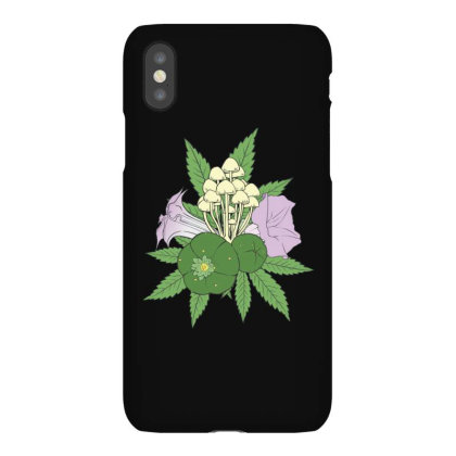 Psychoactive Plants Iphonex Case Designed By Dirjaart