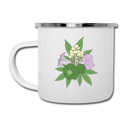 Psychoactive Plants Camper Cup Designed By Dirjaart