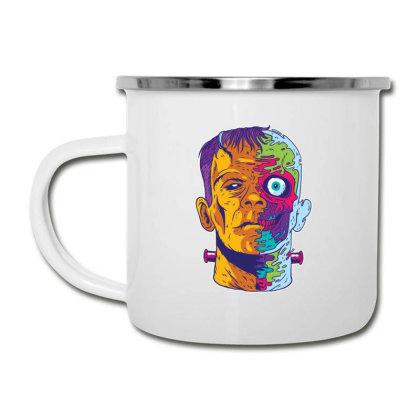 Psychedelic Frankenstein Camper Cup Designed By Dirjaart