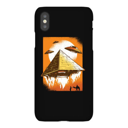 Pyramid Ufo Iphonex Case Designed By Dirjaart