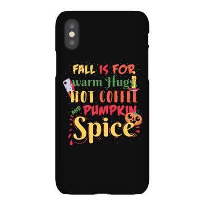 Pumpkin Spice Fall Halloween Iphonex Case Designed By Dirjaart