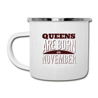 Queens Are Born Camper Cup Designed By Dirjaart