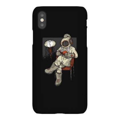 Reading Diver Iphonex Case Designed By Dirjaart