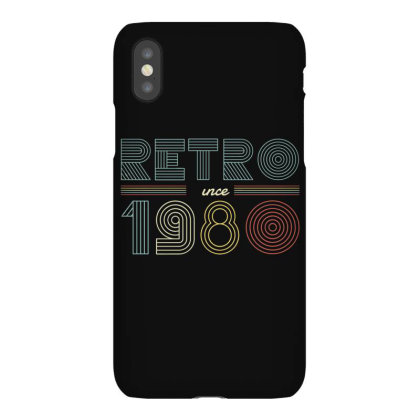 Retro Decade Iphonex Case Designed By Dirjaart
