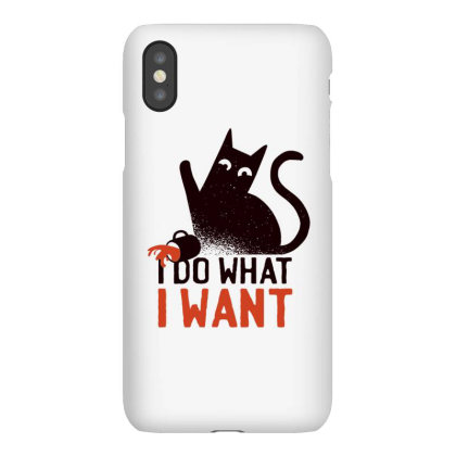Rebel Cat Iphonex Case Designed By Dirjaart