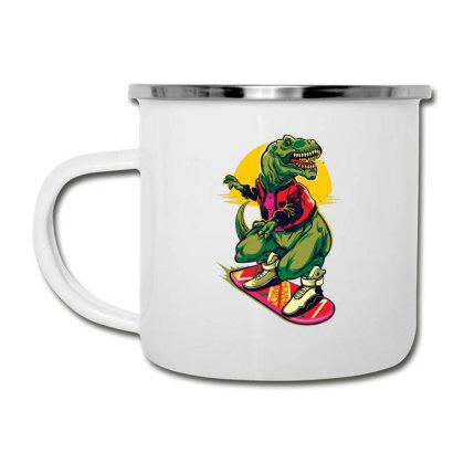 Dinosaur Cartoon Parody Camper Cup Designed By Salmanaz