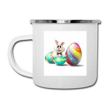 Easter Egg Bunny Design Camper Cup Designed By Artango