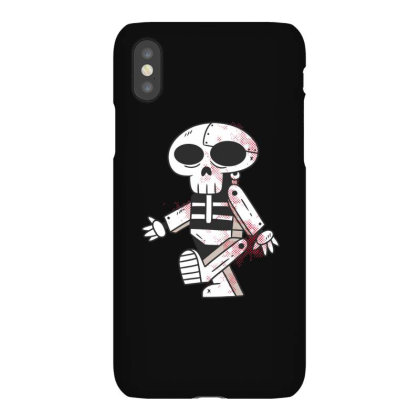 Robot Skull Iphonex Case Designed By Dirjaart