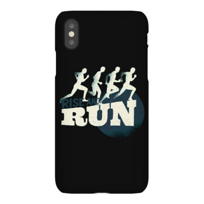 Rise And Run Iphonex Case Designed By Dirjaart