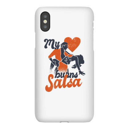 Salsa Heart Iphonex Case Designed By Dirjaart