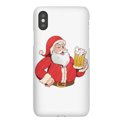 Santa Claus Beer Iphonex Case Designed By Dirjaart