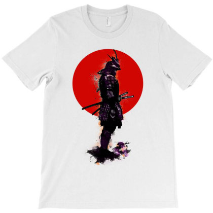 Samurai Fight T-shirt Designed By Green Giant