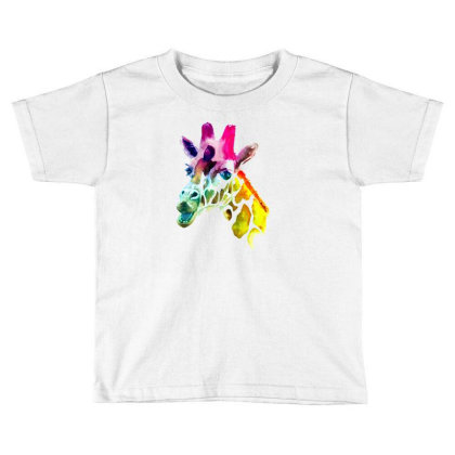 Giraffe Lgbt Toddler T-shirt Designed By Gurkan