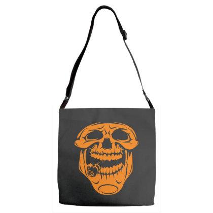 Skull Adjustable Strap Totes Designed By Estore