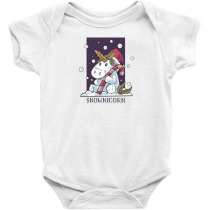 Snownicorn Baby Bodysuit Designed By Dirjaart