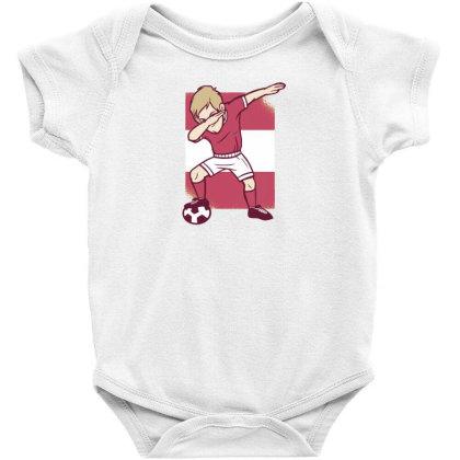 Soccer Player Dabbing Baby Bodysuit Designed By Dirjaart