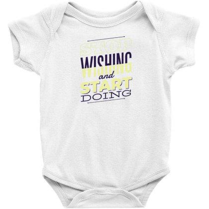 Start Doing Baby Bodysuit Designed By Dirjaart