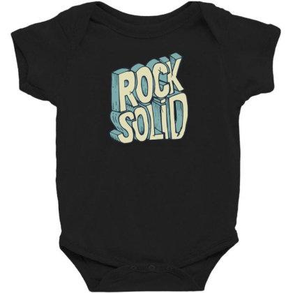 Stay Strong Baby Bodysuit Designed By Dirjaart