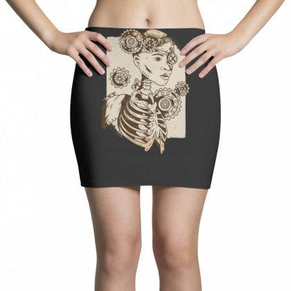 Steampunk Human Mini Skirts Designed By Dirjaart