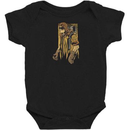 Steampunk Man Baby Bodysuit Designed By Dirjaart