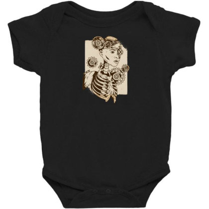 Steampunk Human Baby Bodysuit Designed By Dirjaart