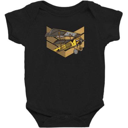 Steampunk Plane Baby Bodysuit Designed By Dirjaart