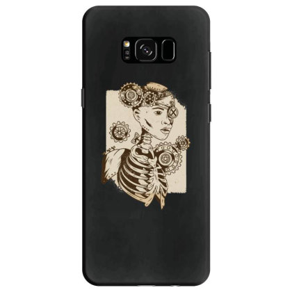 Steampunk Human Samsung Galaxy S8 Case Designed By Dirjaart