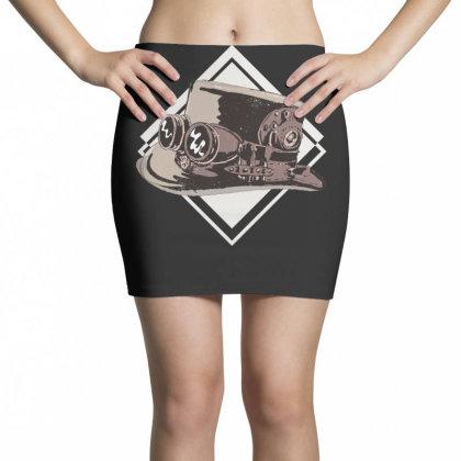 Steampunk Top Hat Mini Skirts Designed By Dirjaart