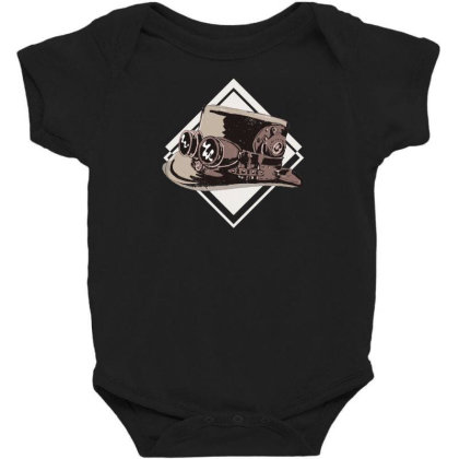 Steampunk Top Hat Baby Bodysuit Designed By Dirjaart