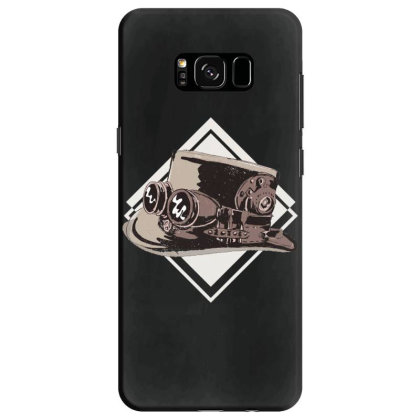 Steampunk Top Hat Samsung Galaxy S8 Case Designed By Dirjaart