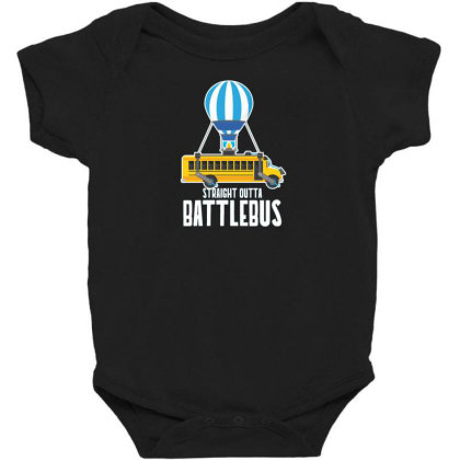 Straight Outta Battlebus Parody Baby Bodysuit Designed By Dirjaart