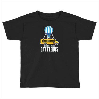 Straight Outta Battlebus Parody Toddler T-shirt Designed By Dirjaart