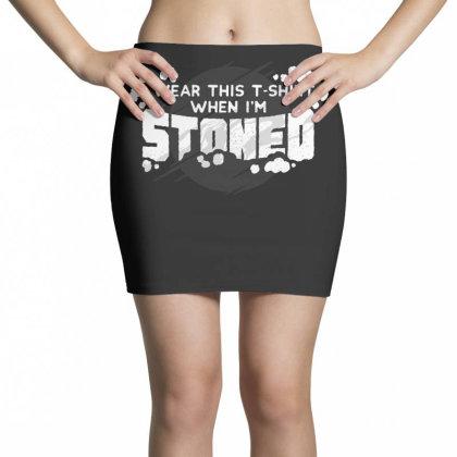 Stoned Mini Skirts Designed By Dirjaart