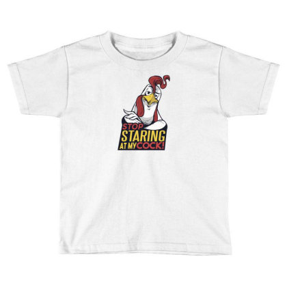 Stop Staring Toddler T-shirt Designed By Dirjaart