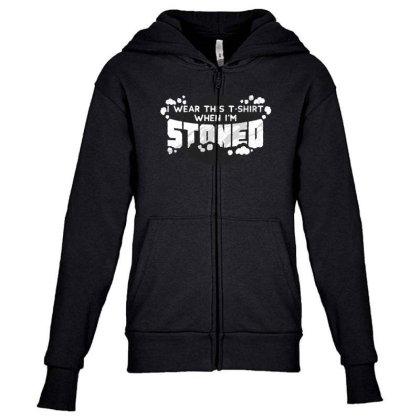 Stoned Youth Zipper Hoodie Designed By Dirjaart