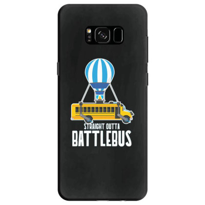 Straight Outta Battlebus Parody Samsung Galaxy S8 Case Designed By Dirjaart