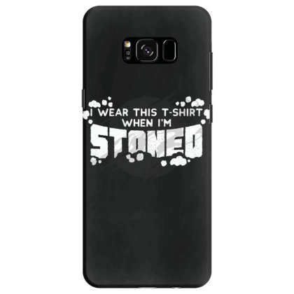 Stoned Samsung Galaxy S8 Case Designed By Dirjaart